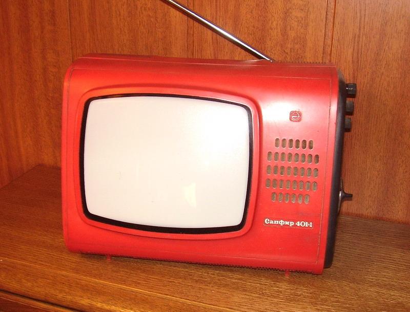 Телевизор Сапфир 401 в рабочем